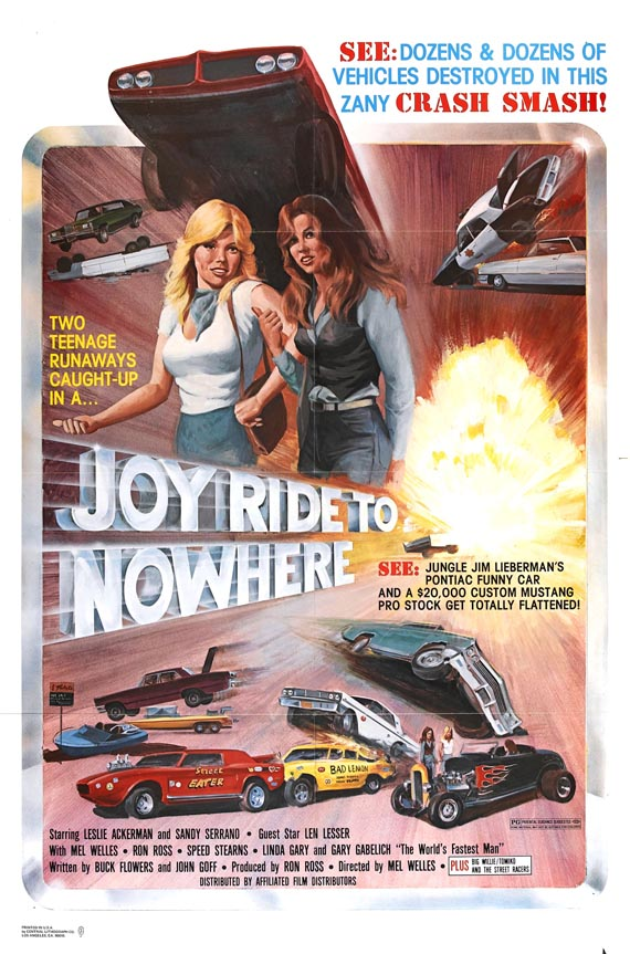 car exploitation movies joyride to nowhere