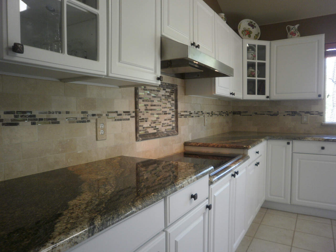 what a change the backsplash design brings it all together we are