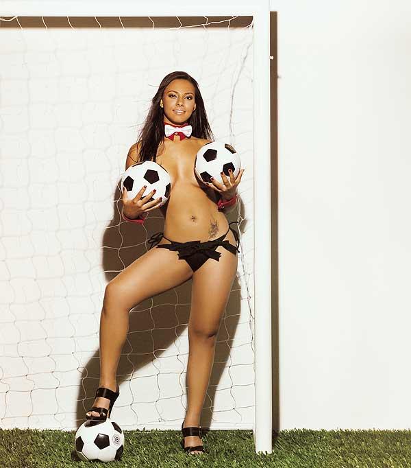 Leticia Carlos a ex de Richarlyson é capa da Playboy
