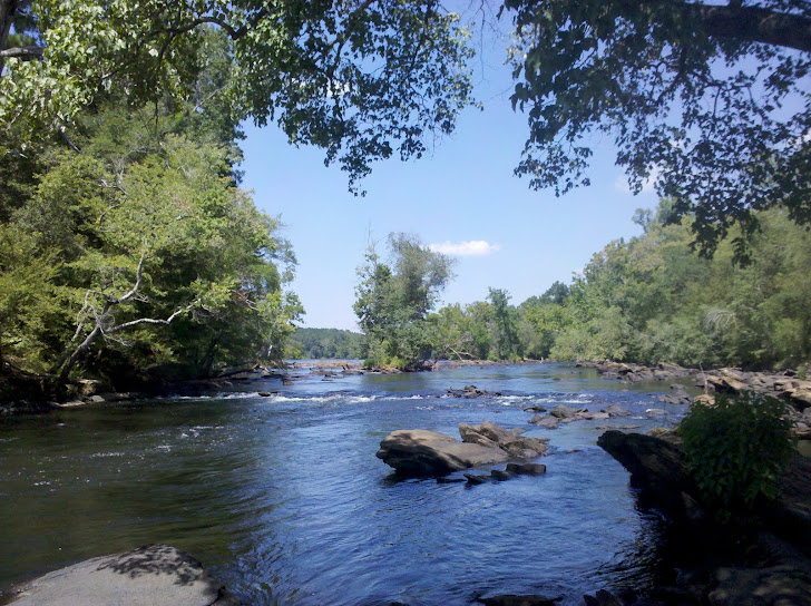 The Ocmulgee River