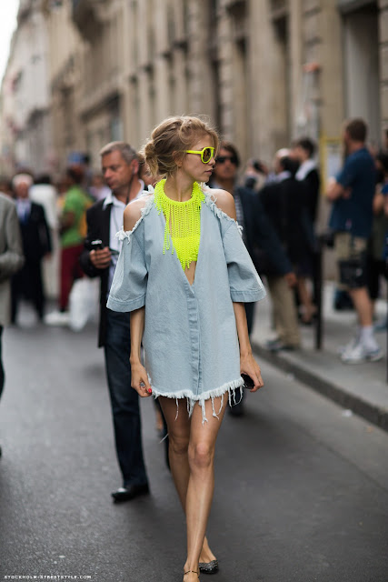 street style details neon