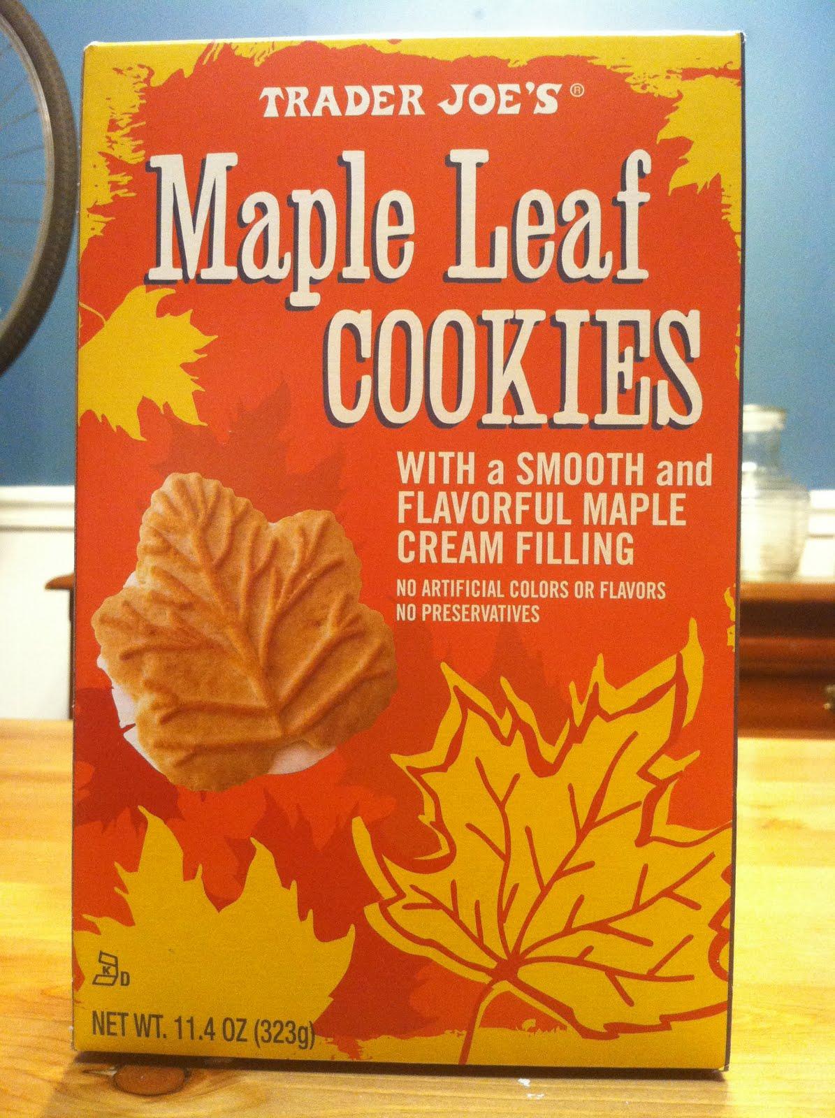 Maple Leaf Cookies Recipe — Dishmaps