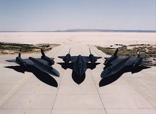 SR71 Blackbirds