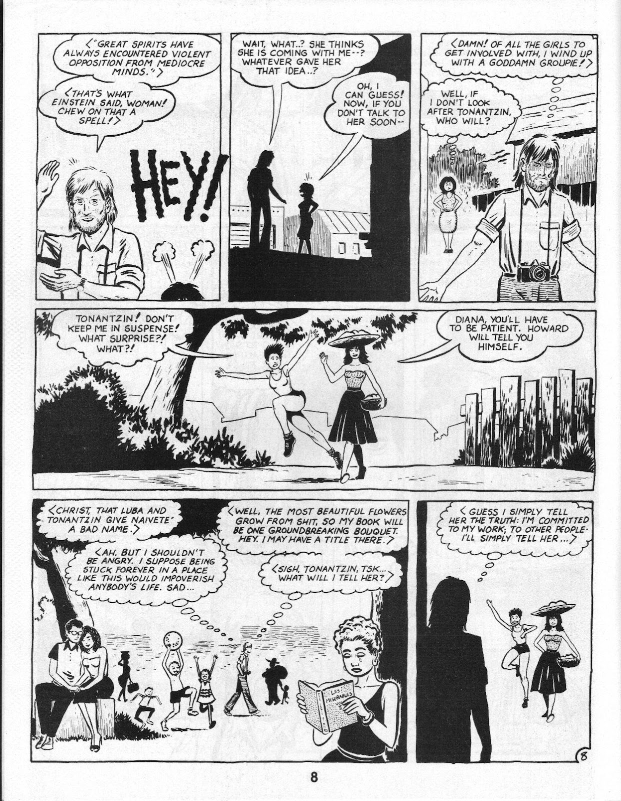 Love and Rockets (1982) Issue #14 #13 - English 10