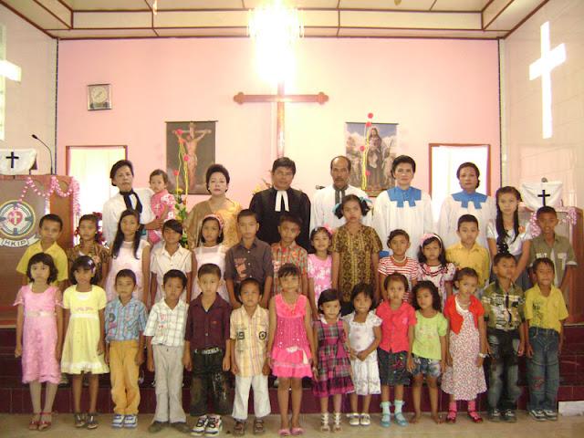 Tiga Jemaat HKIP di Siantar Rayakan Natal Bersama