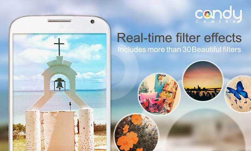 filter camera for android