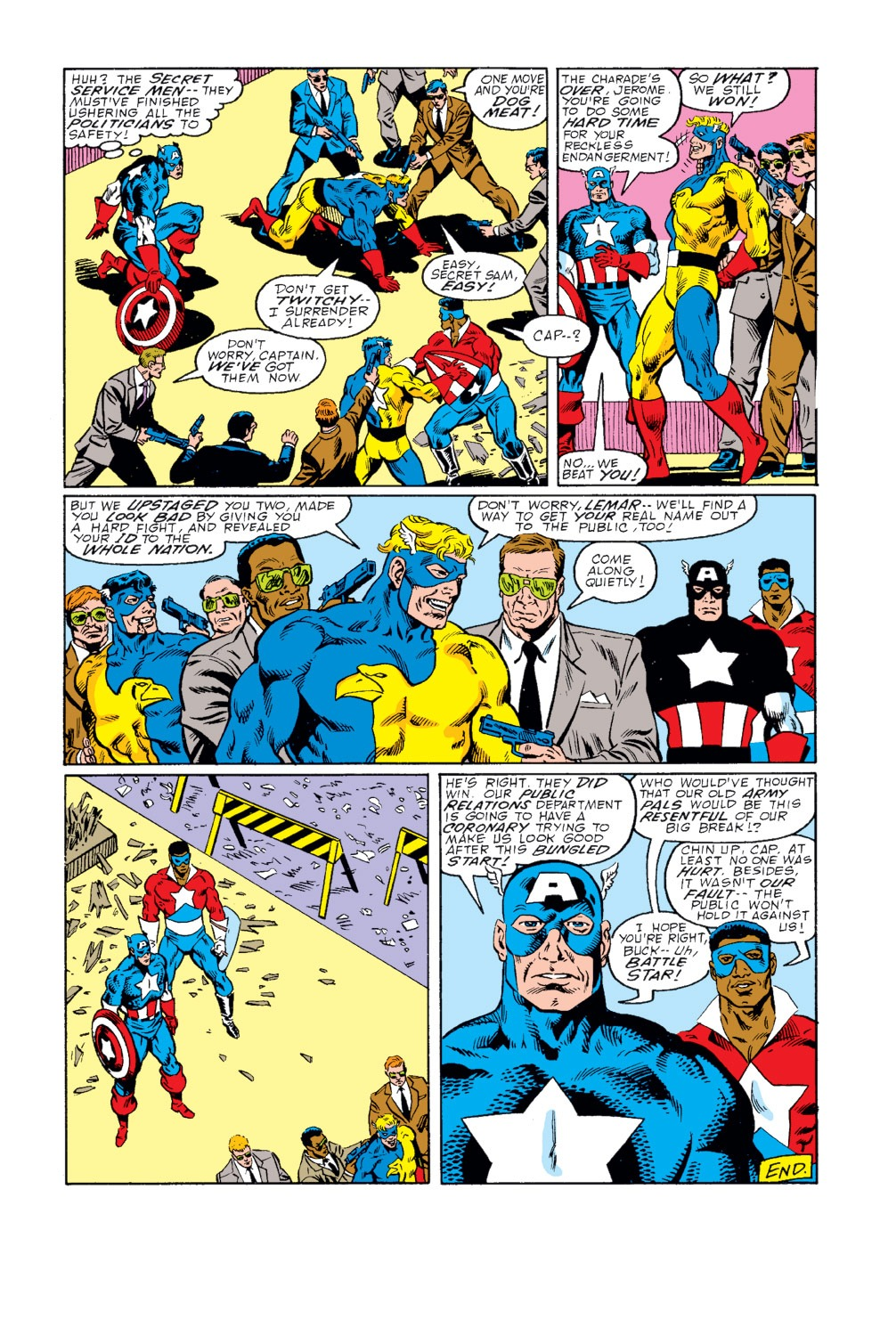 Captain America (1968) Issue #341 #271 - English 16
