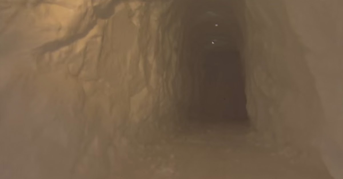 He Built A Tunnel Through The Snow. Where It Ends? BRILLIANT!