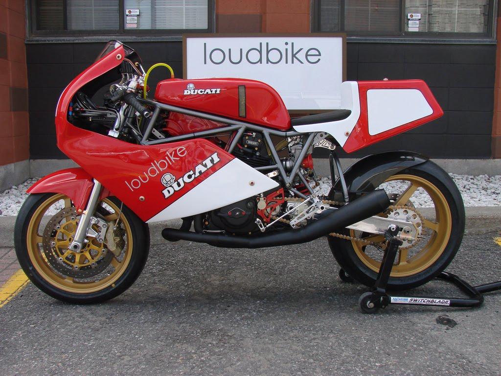 Racing Caf U00e8  Ducati F1 750 Racer 1988 By Loudbike