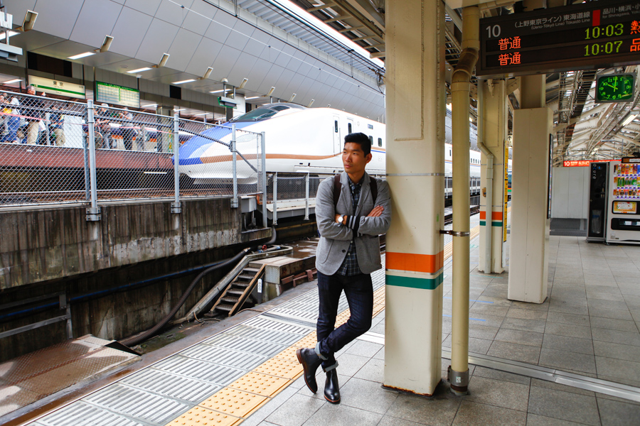 Levitate Style, Sharp Casual Style, Tokyo, Levitate Travel, Japan, Gordon Rush, Wallis Chelsea Boots