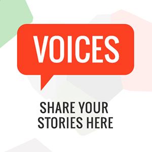Voices: Share your stories - image