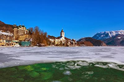Lago Wolfgangsee en Austria - Paisajes fascinantes de Europa