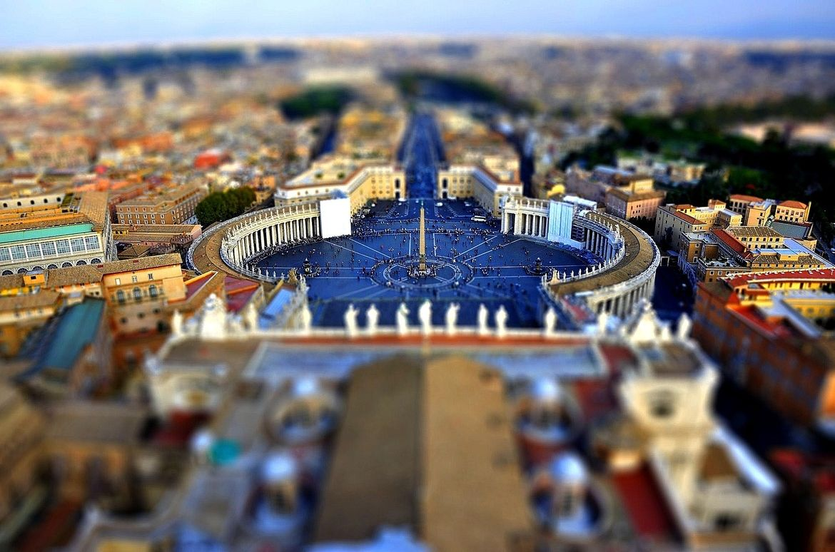 1. The Vatican Square