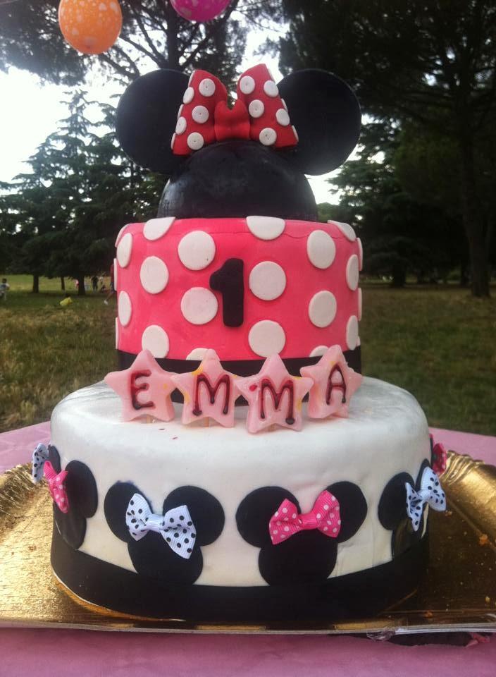 spesso Fiocchi Di Panna: Torta MinniePer il Mio Primo Compleanno VF73