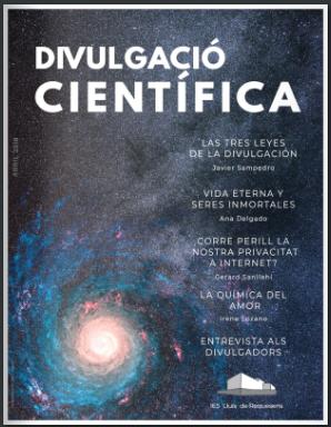 Especial Divulgación Científica en la revista  Adesiara