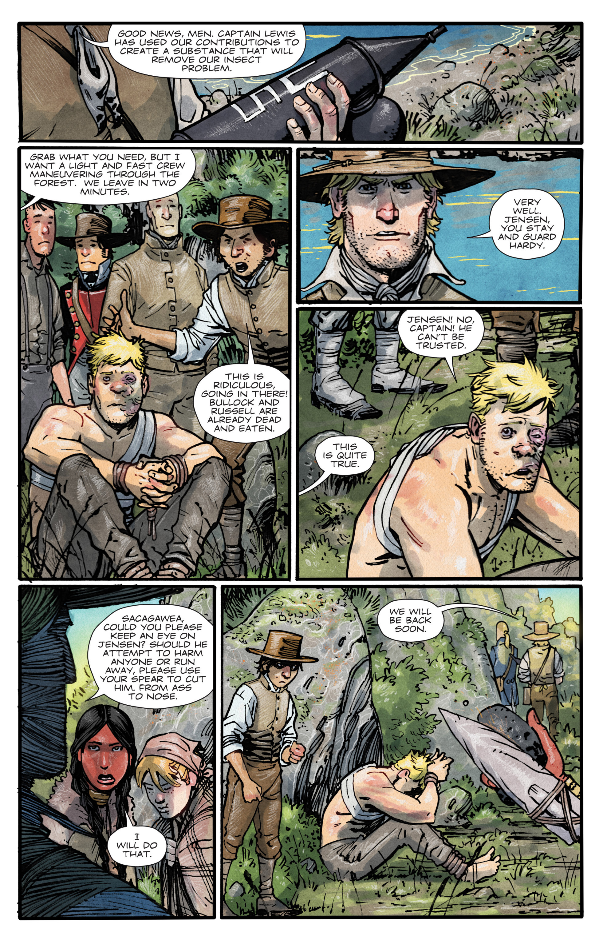 Manifest Destiny #_TPB_2 #42 - English 76