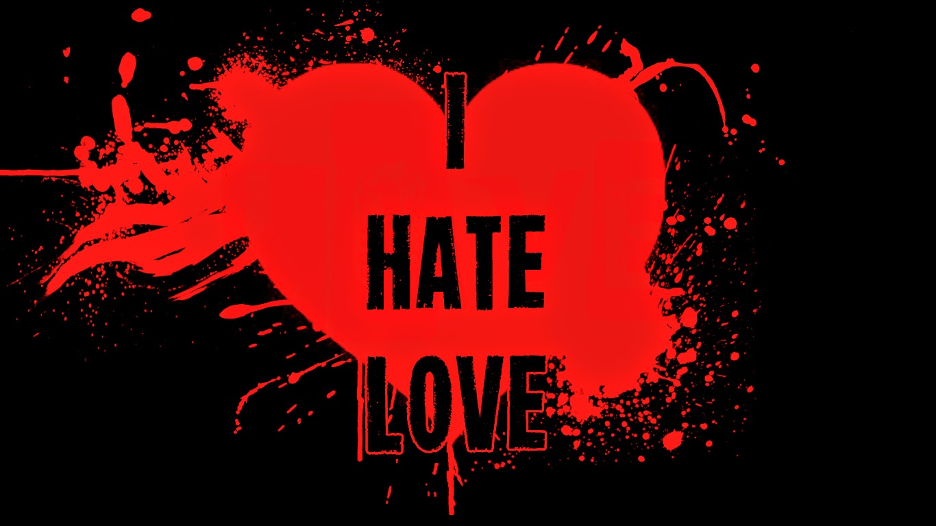 I hate love wallpapers free download
