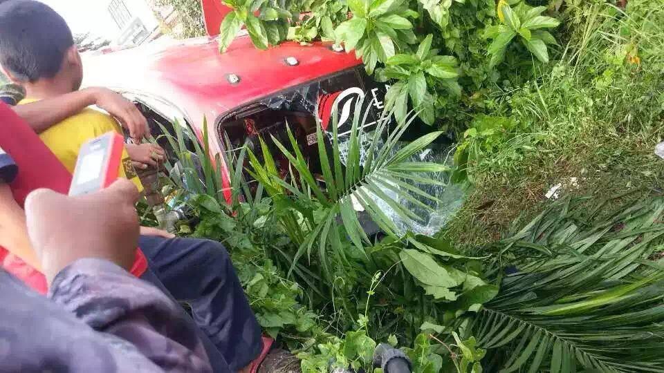 Gambar Kemalangan Guchil 7 Ogos 2015