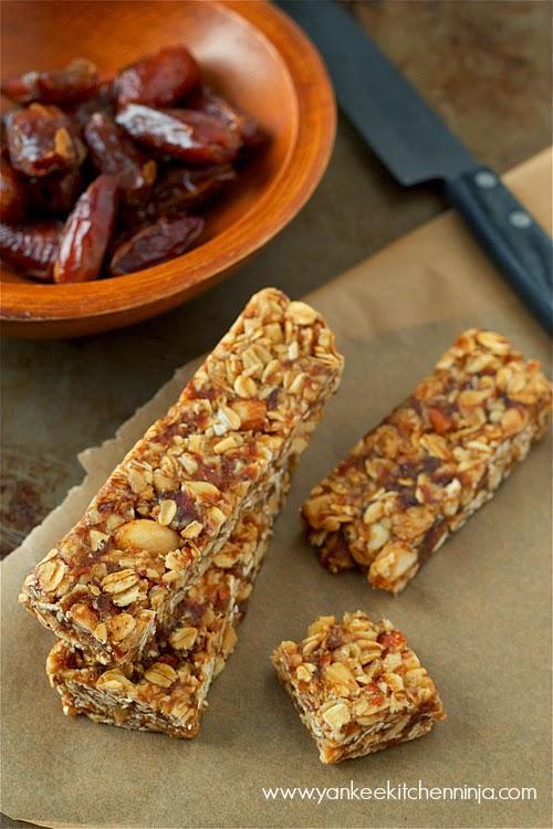 no-bake healthy oat bars
