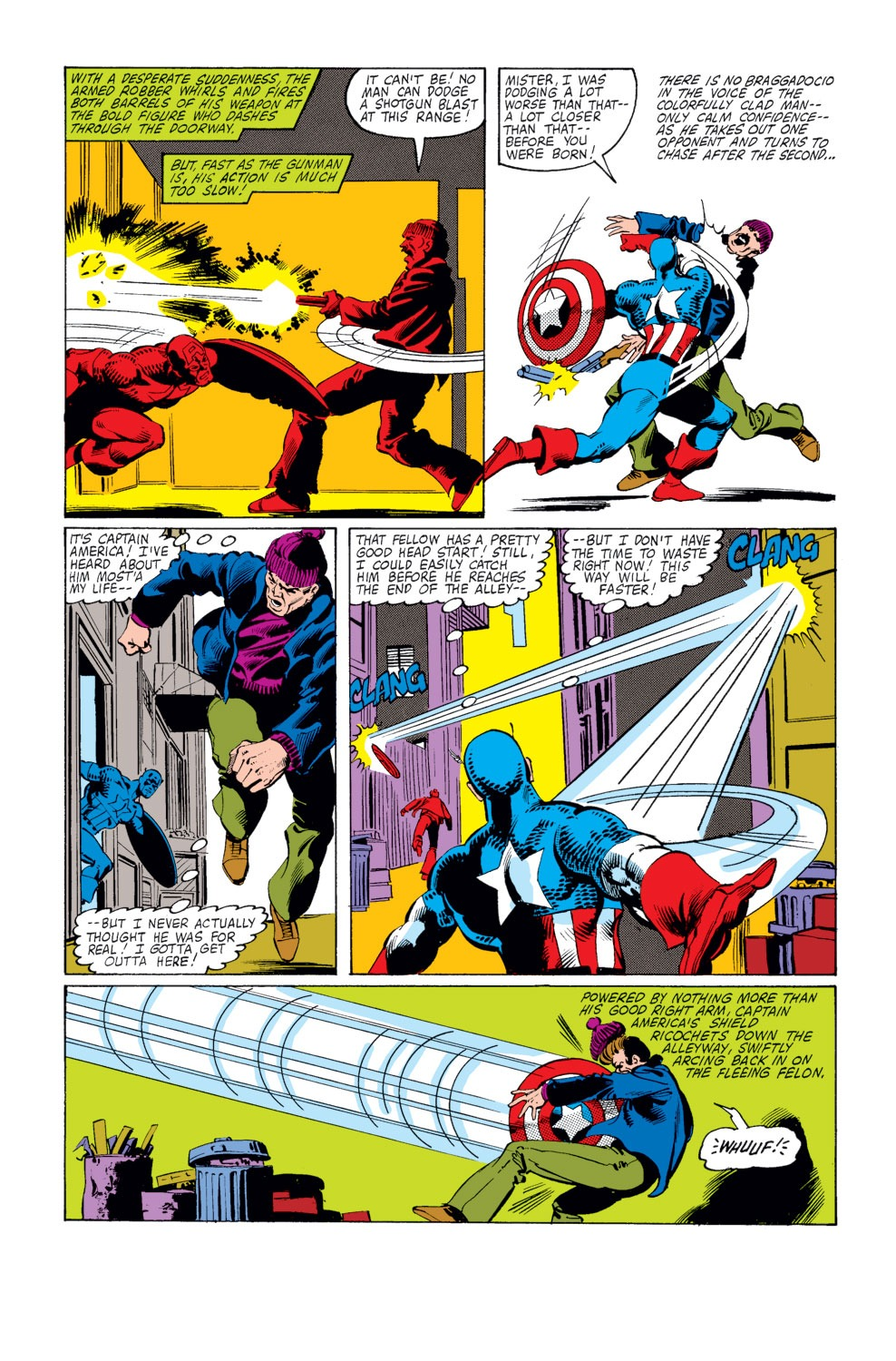 Captain America (1968) Issue #253 #168 - English 5