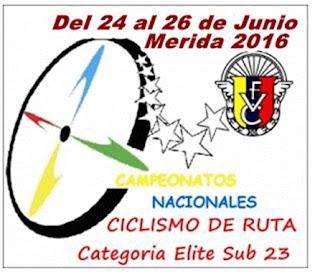 Campeonato Nacional de Ruta Merida 2016