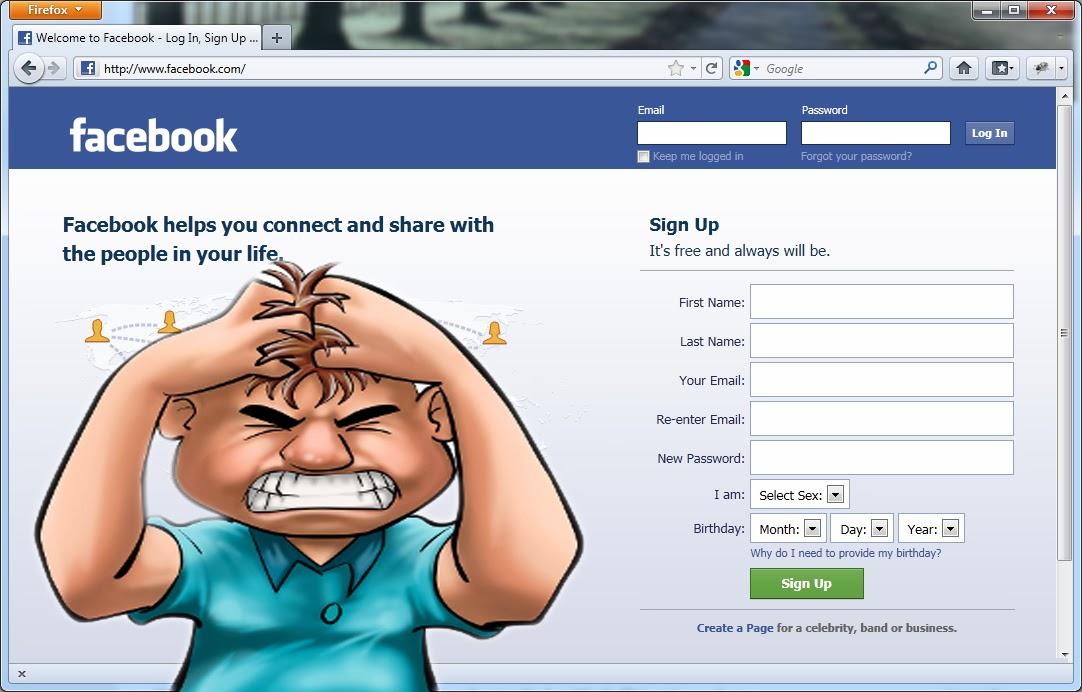 login help facebook