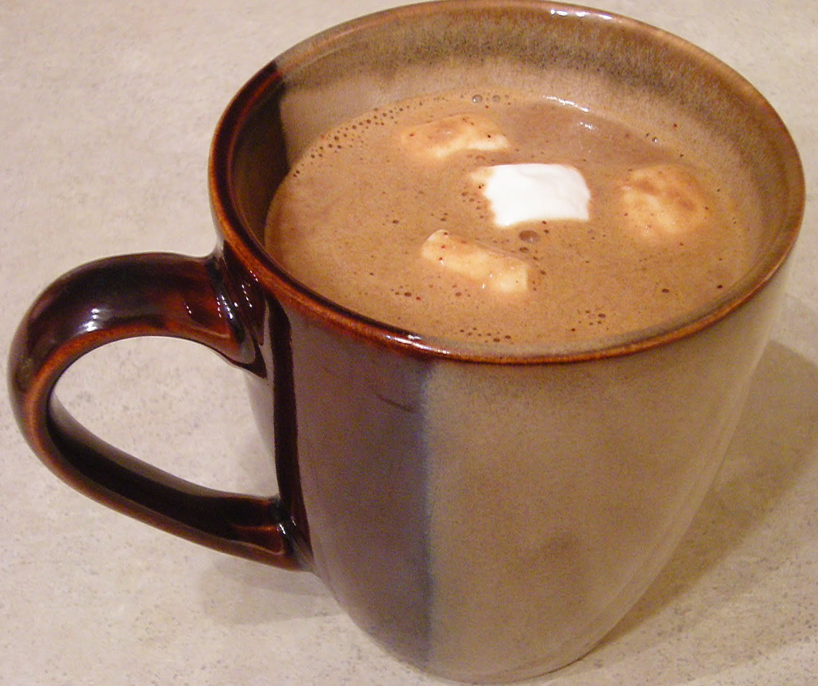 Newman Improved: Rich and Creamy Spiced Hot Chocolate