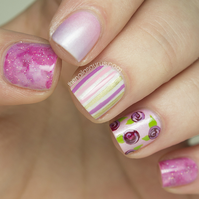 Valentine\'s Day Mish Mash - The Nailasaurus | UK Nail Art Blog