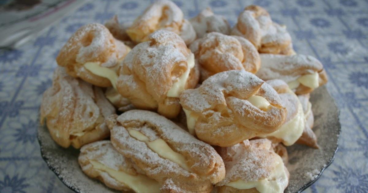 Заварные печенье рецепт пошагово