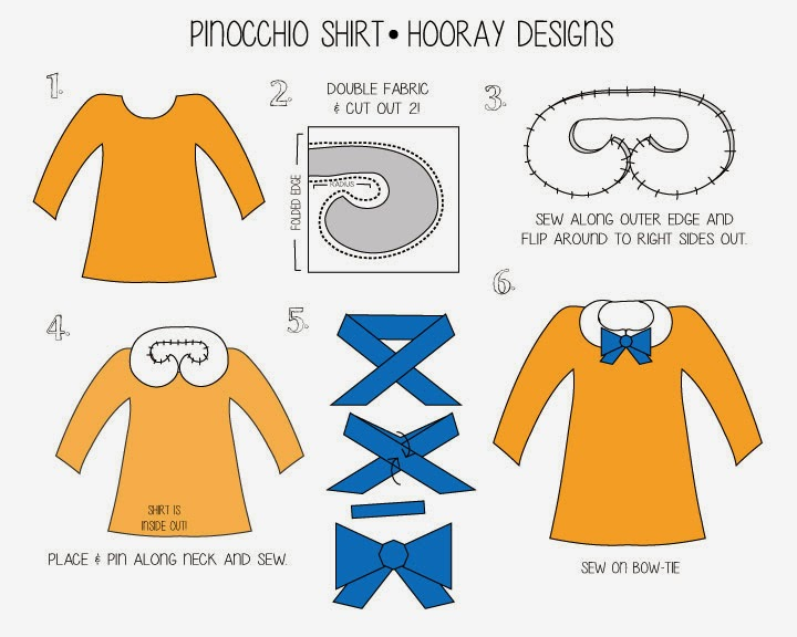 Hooray Pinocchio The Blue Fairy Pinocchio Costume Tutorial