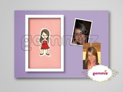 Ilustração personalizada Mini Me Gommiz
