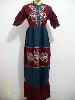 busana+muslim+gamis+terbaru+u5 Model Baju Muslim Modern Terbaru 2013