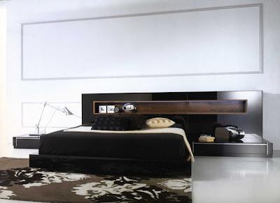 Black Furniture Bedroom on Have You Ever Imagined Black Platform Furniture In Your Bedroom