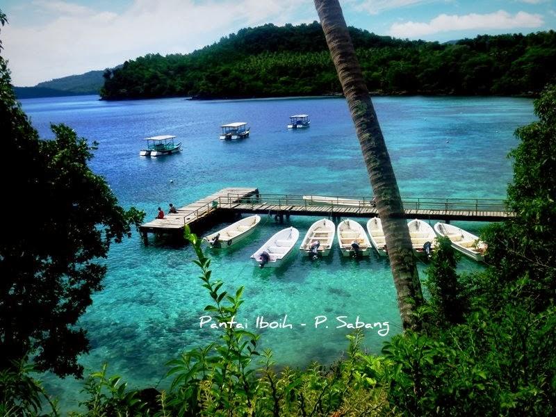 Tempat Wisata yang paling populer Di aceh, pantai ibouh sabang
