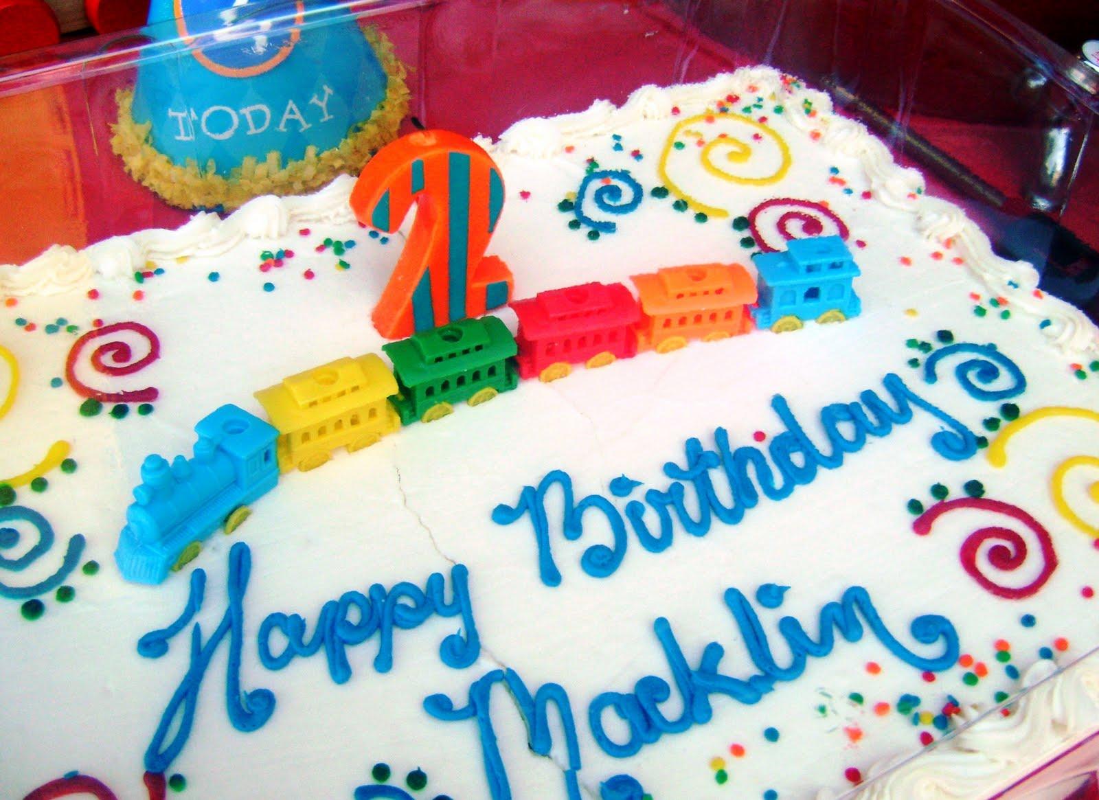 Kountry Chic Design Macklins 2nd Birthday Trains Trains Trains