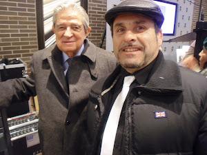Con el sr. Enrique Badosa.