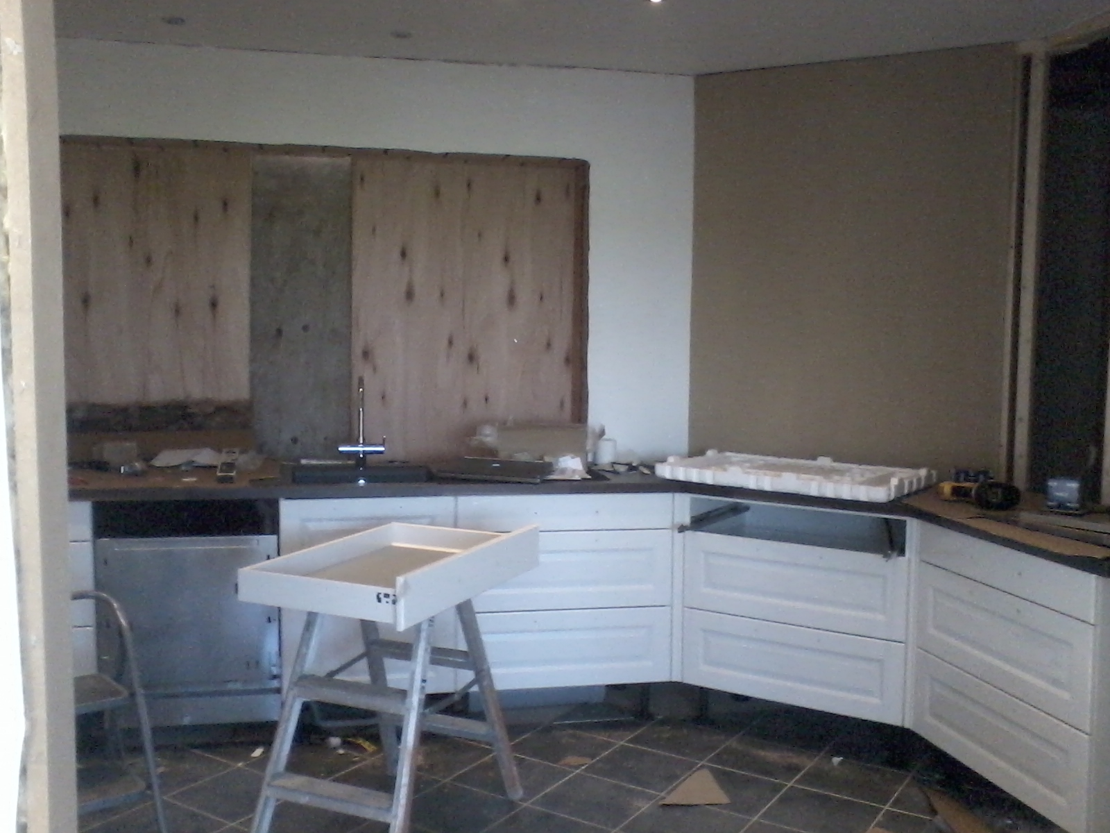 Byggeproject: køkken