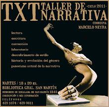TXT - TALLER DE NARRATIVA (2011)