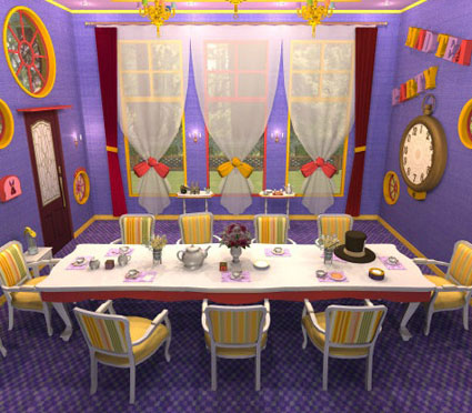 Alice House No.06: A Mad Tea Party