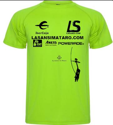 Camiseta de la 3ª LaSansi Mataró 10K