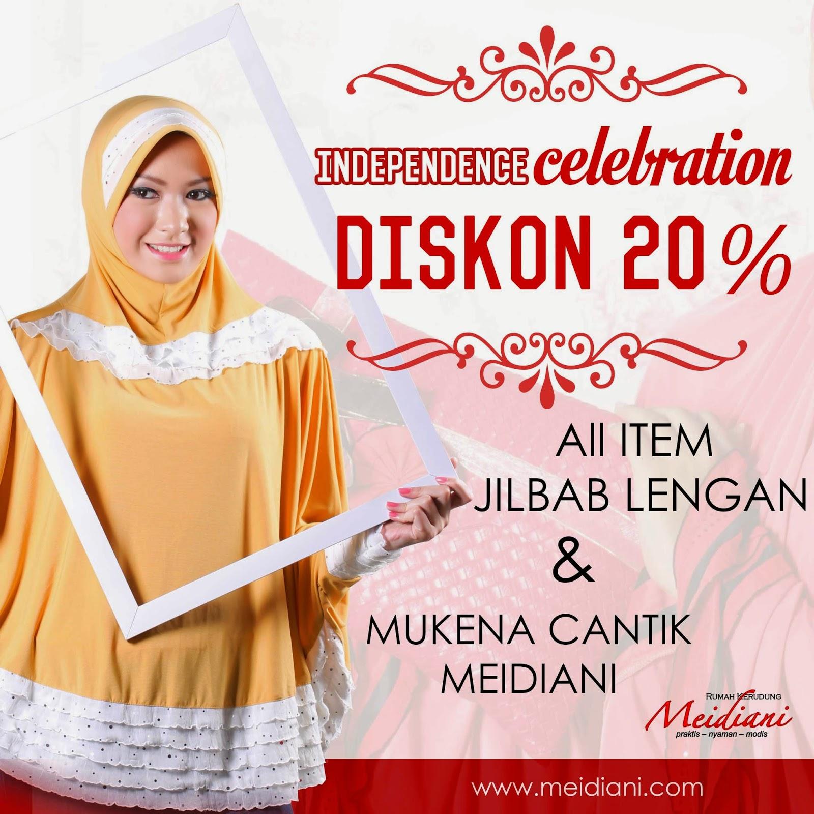 Independence celebration diskon 20%