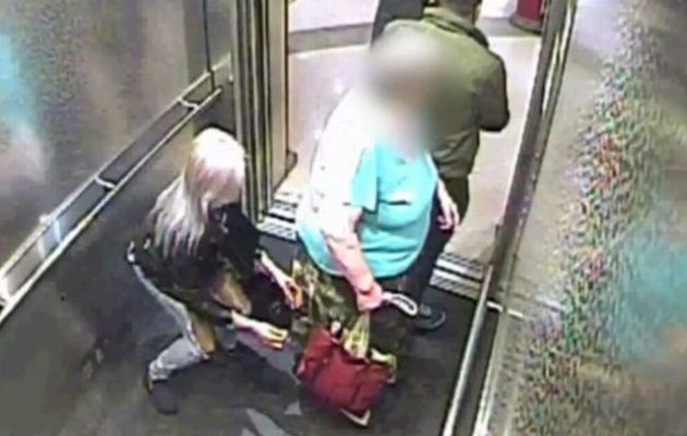 Δείτε πώς «χτυπάνε» οι πορτοφολάδες μέσα σε ανελκυστήρα (βίντεο)