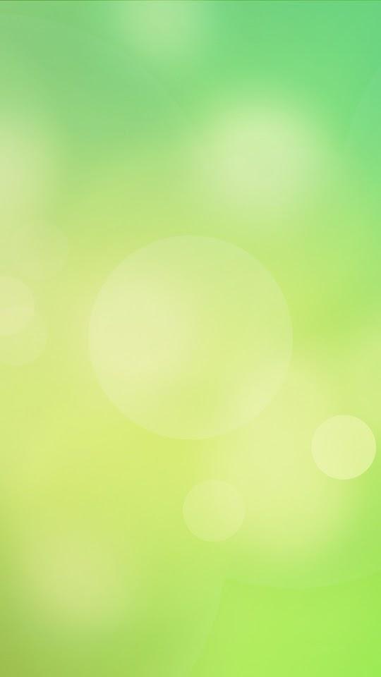 Green Gradient Bokeh   Galaxy Note HD Wallpaper