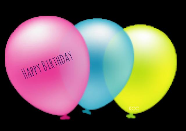 Cute Birthday Party Balloon Clip Art Printable