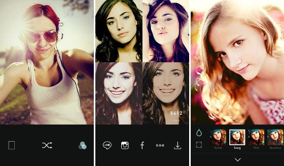Aplikasi Selfie Camera Foto Editor B612 Dari LINE