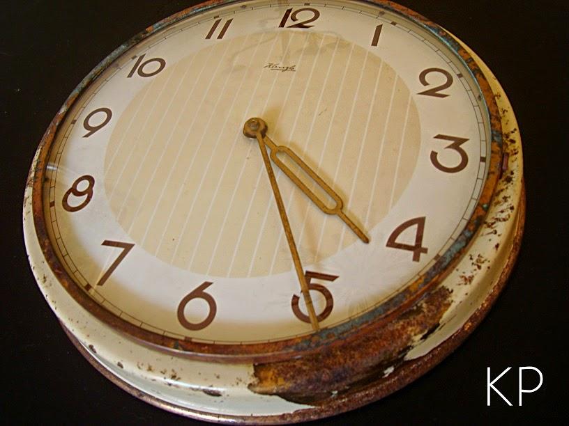 Kp tienda vintage online reloj de pared vintage ref r4 - Reloj pared vintage ...