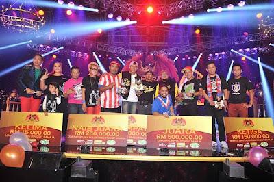 Jozan, Juara Final Maharaja Lawak Mega 2012