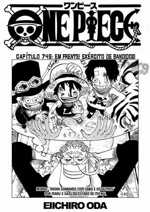 One Piece Mangá 749 Português