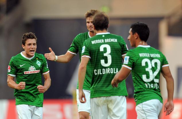 Amistoso com o Werder Bremen.