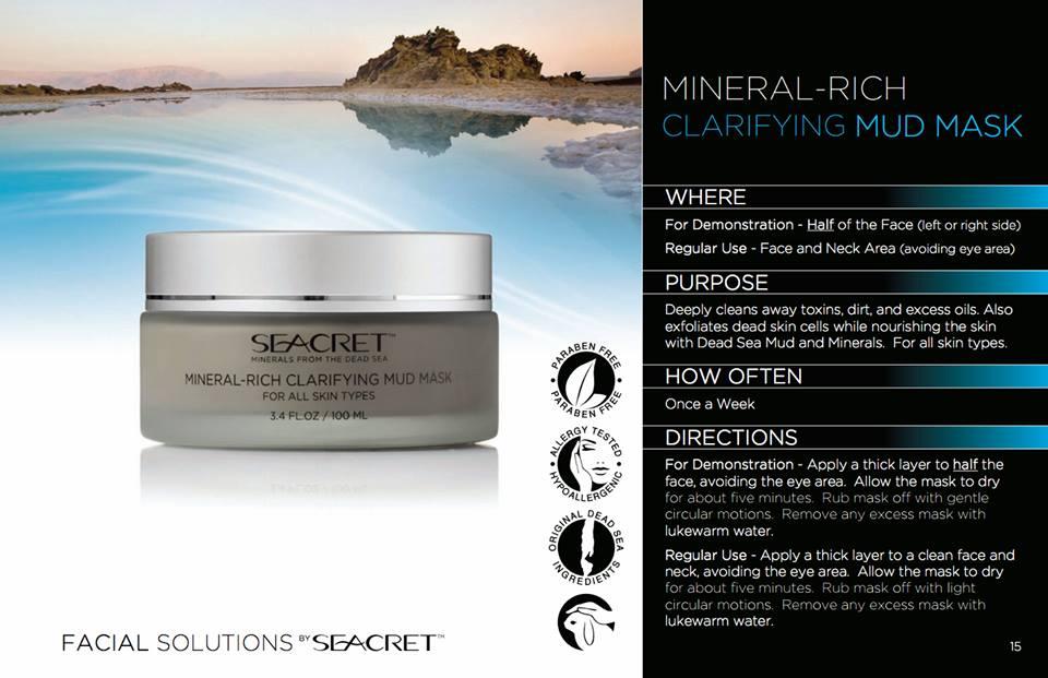 Seacret Enriched Facial Mud Mask